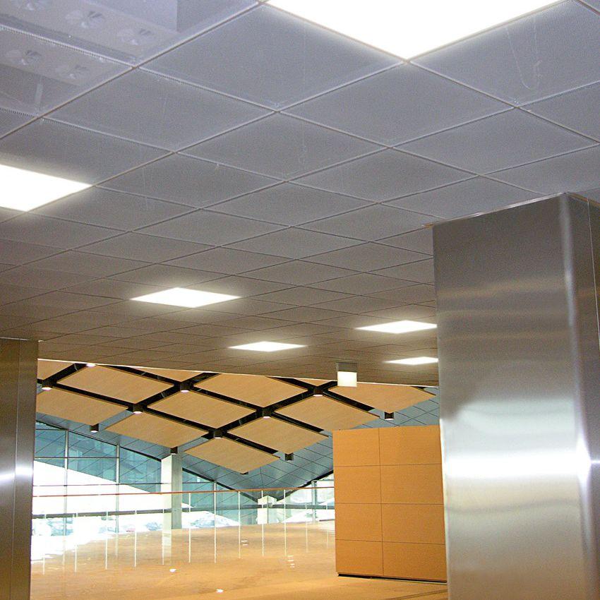 Aluminum suspended ceiling - 15 LINEAR DESIGN - Atena spa ...