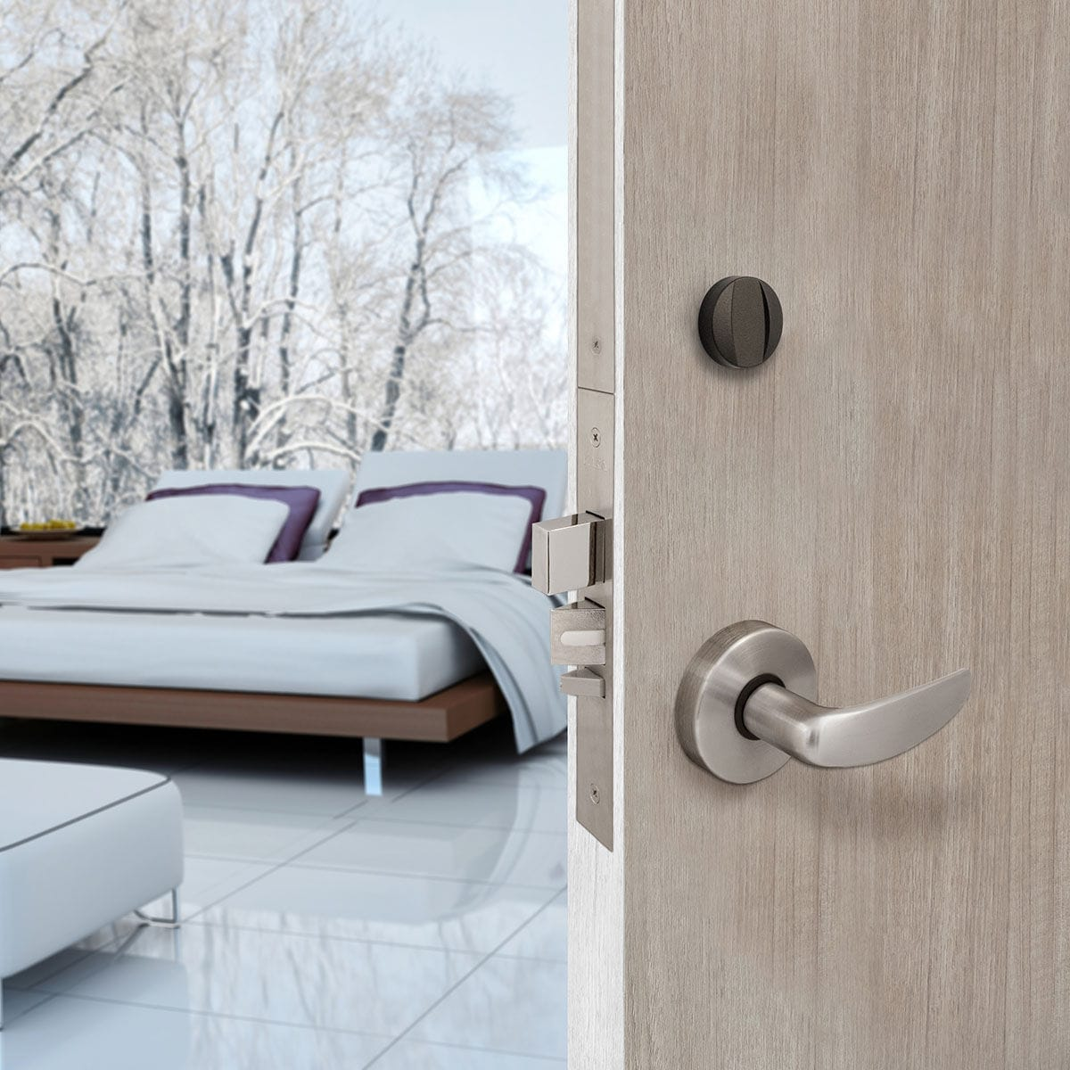 Electronic lock / door / RFID / high-security - SAFLOK