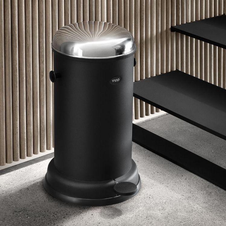 Bathroom Trash Can Vipp15 Vipp
