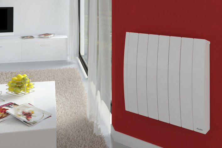 Electric Radiator Inertia Cast Iron Contemporary