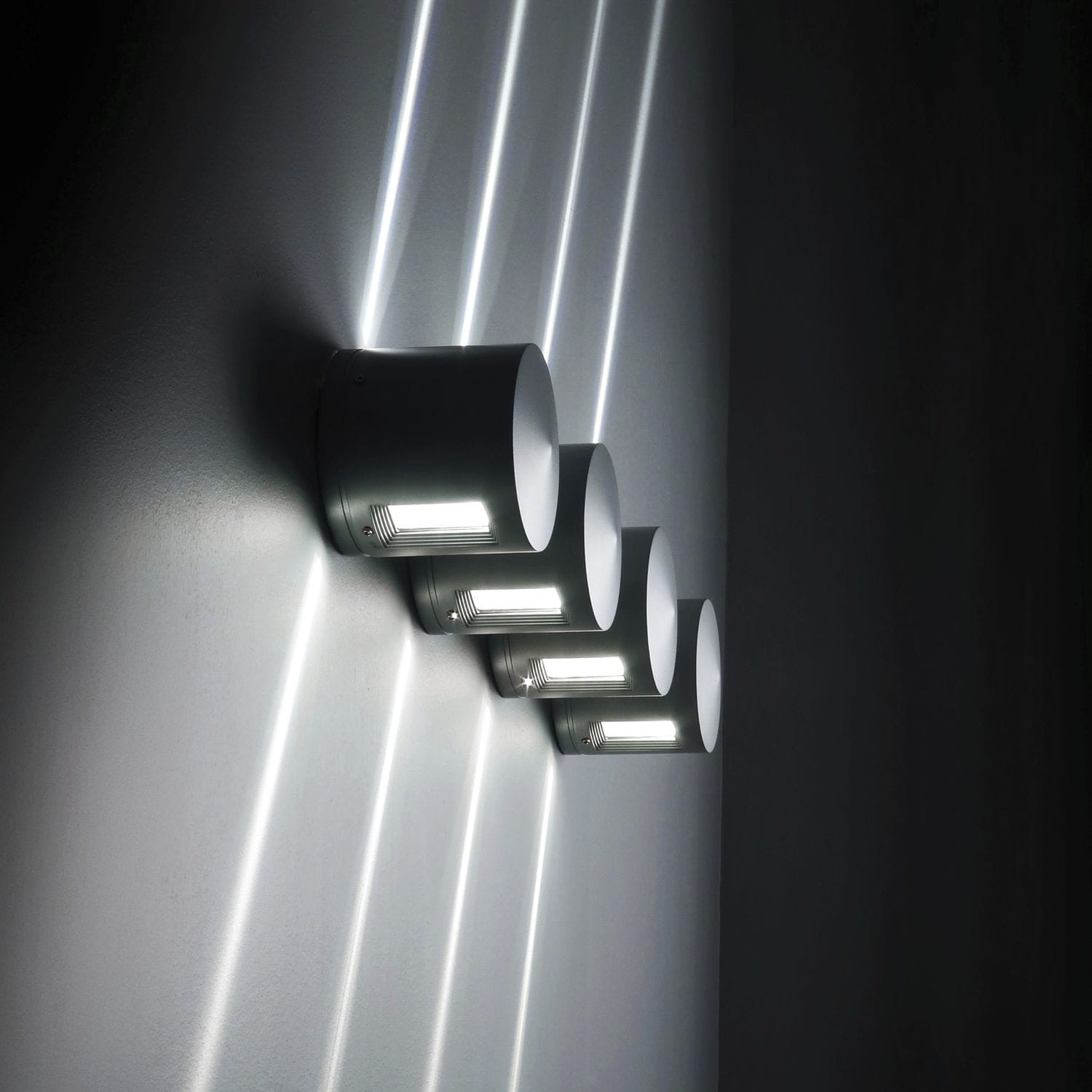 Contemporary Wall Light Outdoor Aluminum Led Blitz