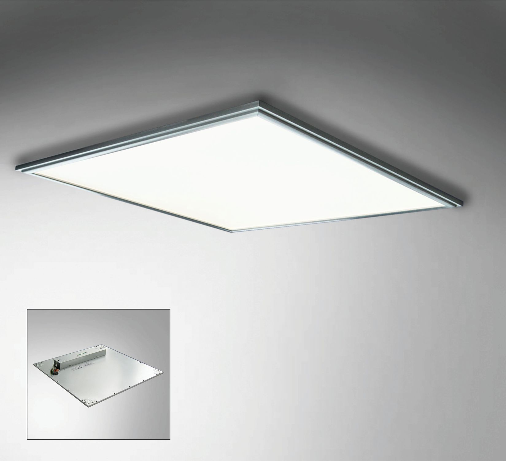 Recessed Ceiling Light Fixture Grid Panel 625 Leccor Led Square Outdoor