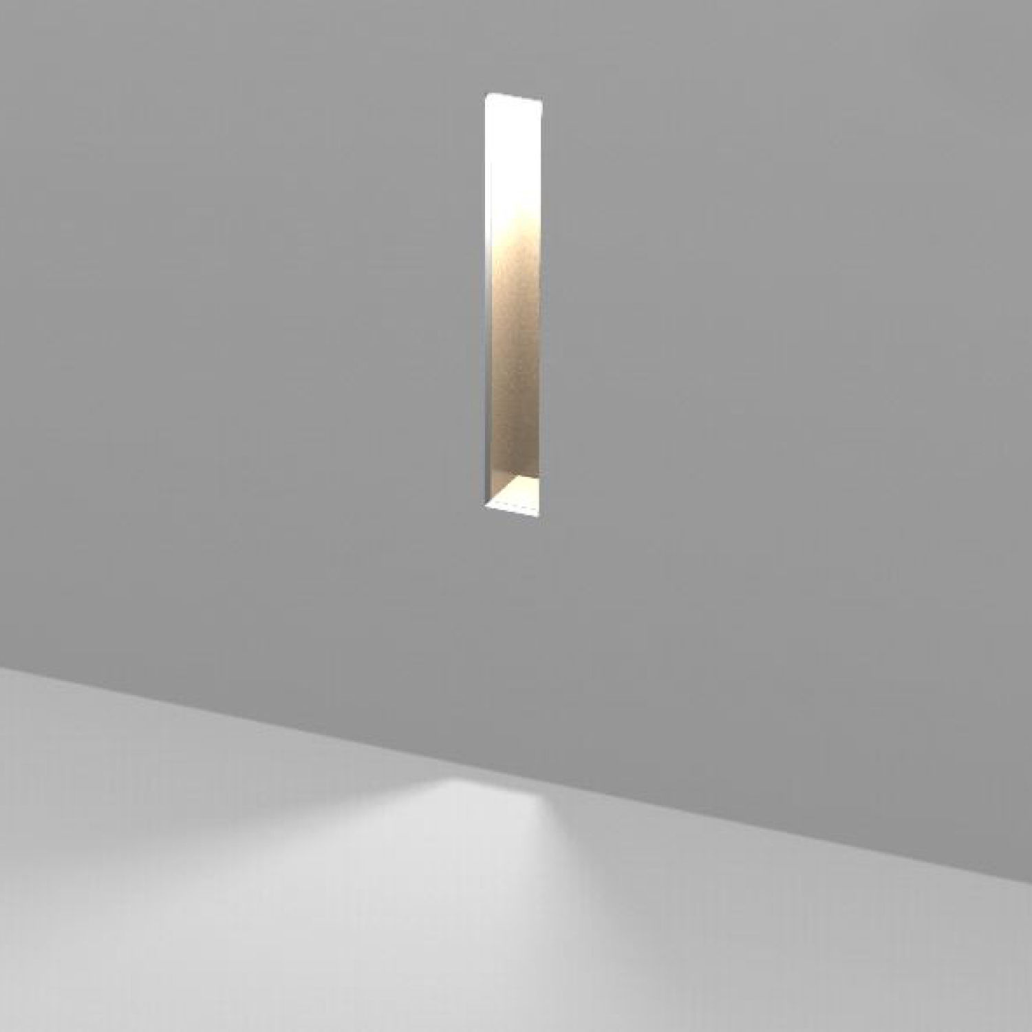 Recessed Wall Light Fixture Only Light Prolicht Led Linear Plaster