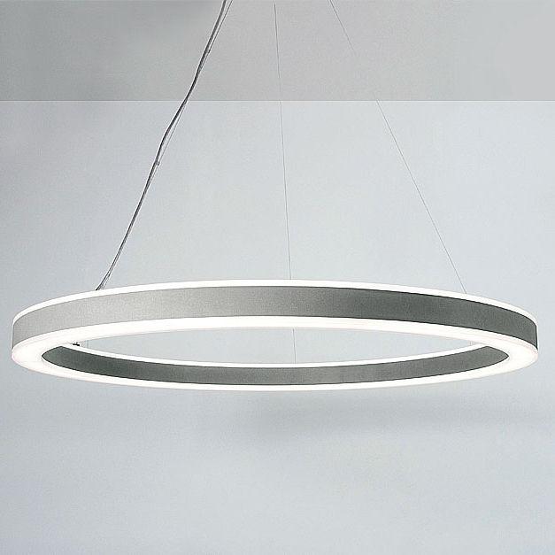 Hanging Light Fixture Led Round Aluminum Halo