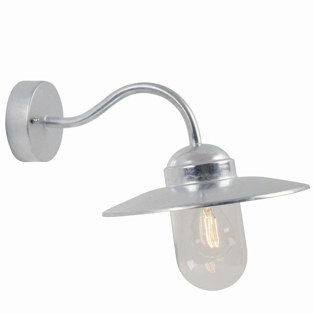 Traditional Wall Light Outdoor Galvanized Steel Led