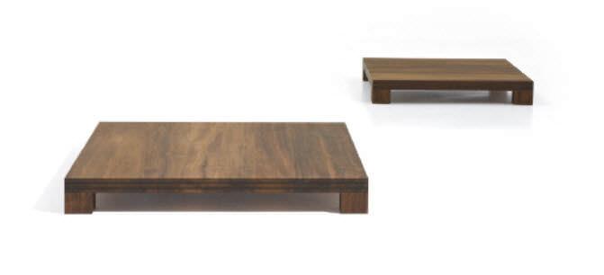 Contemporary Coffee Table Wooden Square Luy By Maurizio Fardo