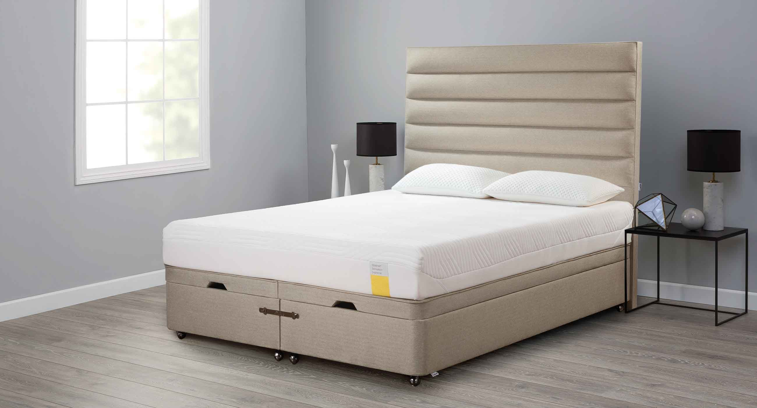 Awe Inspiring Double Bed Contemporary Upholstered With Headboard Lamtechconsult Wood Chair Design Ideas Lamtechconsultcom
