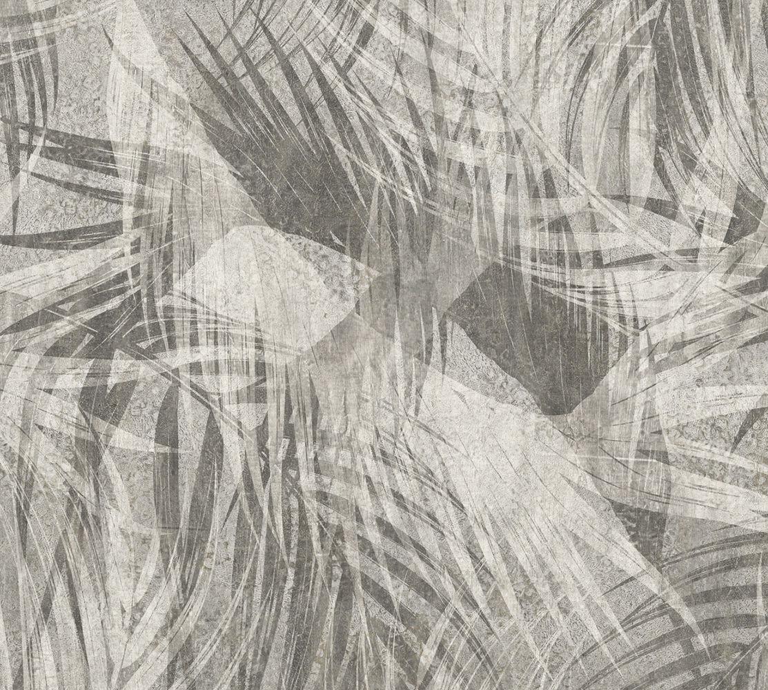 Contemporary Wallpaper Floral Non Woven Washable 014284
