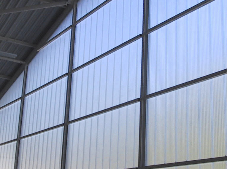 Polycarbonate Building Panel With Uv Protection Insulated Arcoplus 344x
