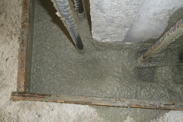 Non-shrink mortar / repair / leveling / protective - EXOCEM G - RUREDIL