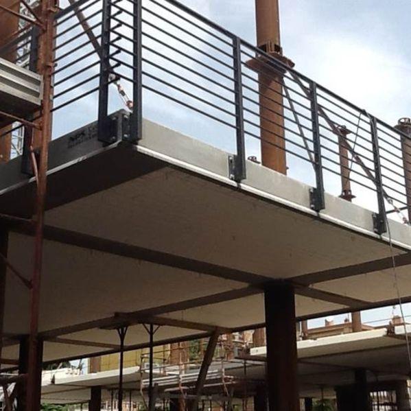Reinforced concrete deck slab / expanded polystyrene / fireproof /  insulating AIRFLOOR TECNOSTRUTTURE - NPS SYSTEM®