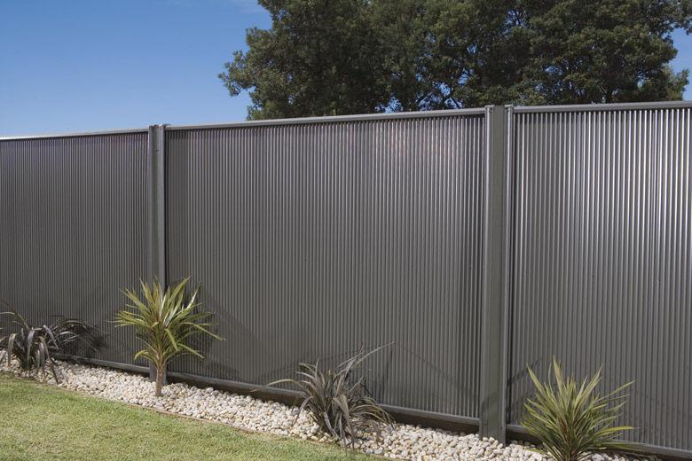 Garden Fence Steel Lysaght Miniscreen