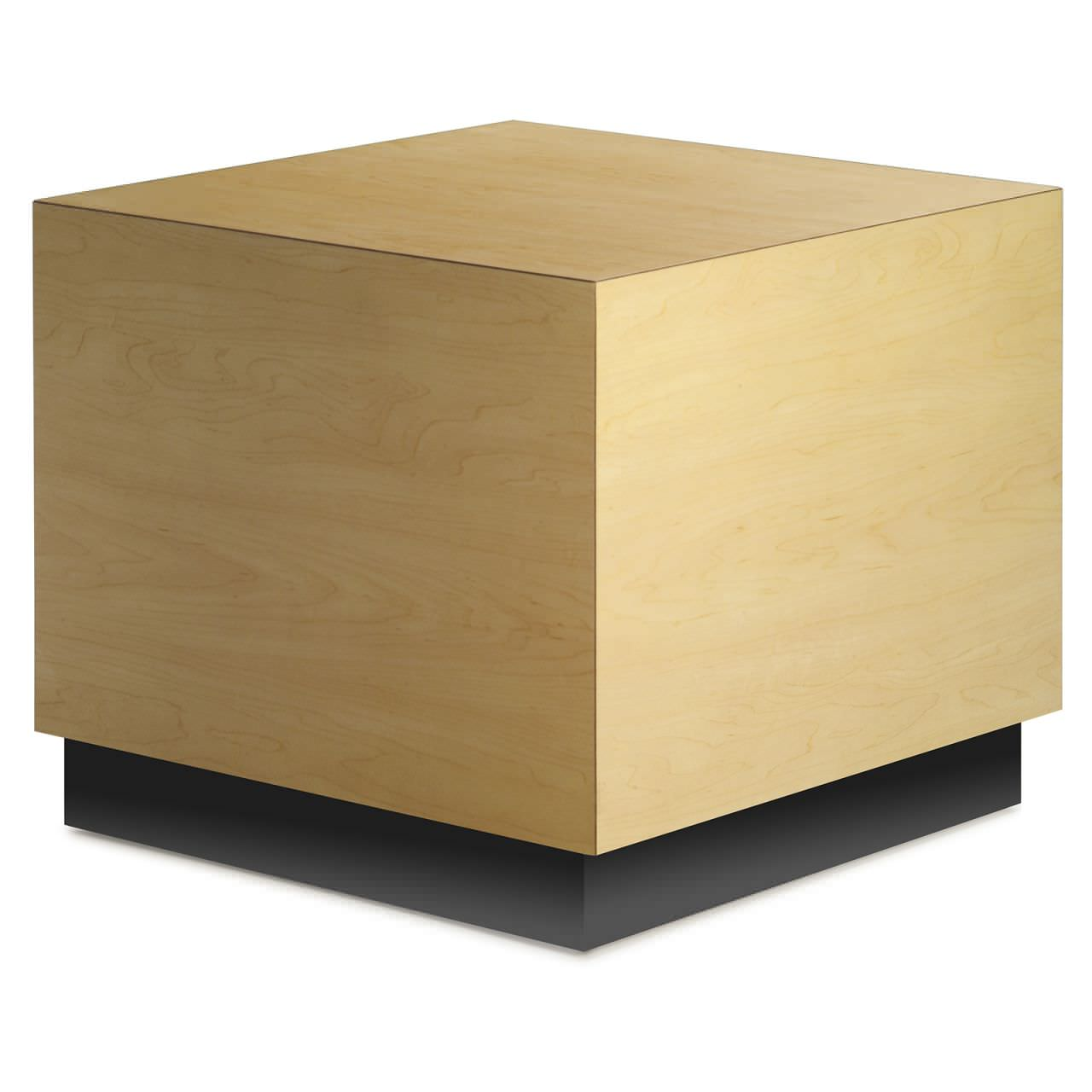 Contemporary Coffee Table Wooden Square Cubes