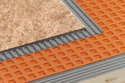 Floor Waterproofing Membrane Roll Polyethylene Schluter Ditra Xl