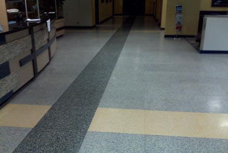 Marble raised access floor / acoustic / indoor - TERRAZZO