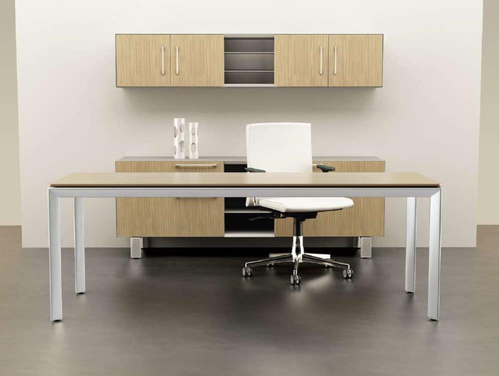 Ideal Executive desk / wooden / metal / contemporary - MIRO - Watson Desking VM36