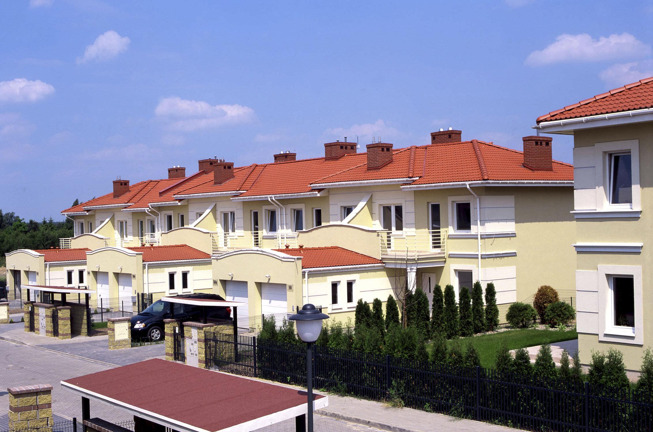 French Roof Tile Double Roman Monier Braas Concrete
