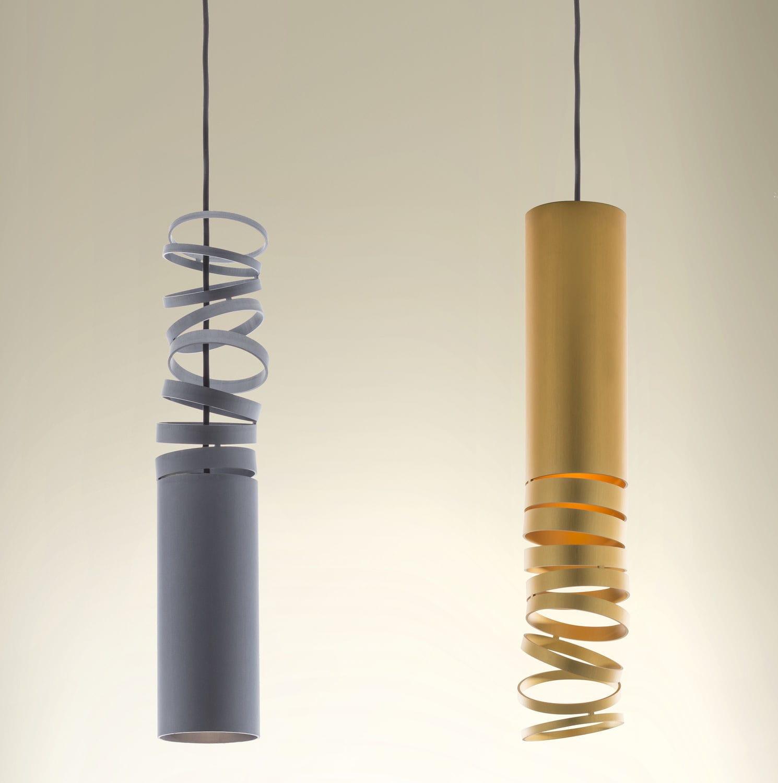 Lampe Suspension Papier Design pendant lamp / contemporary / aluminum / led - decomposÉ