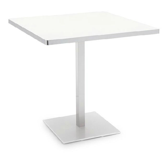 Contemporary Table Laminate Rectangular For Restaurants