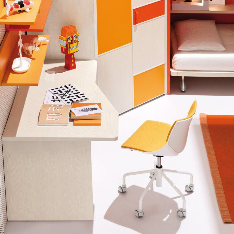 Astounding Contemporary Office Chair Childs Star Base Fabric Gmtry Best Dining Table And Chair Ideas Images Gmtryco