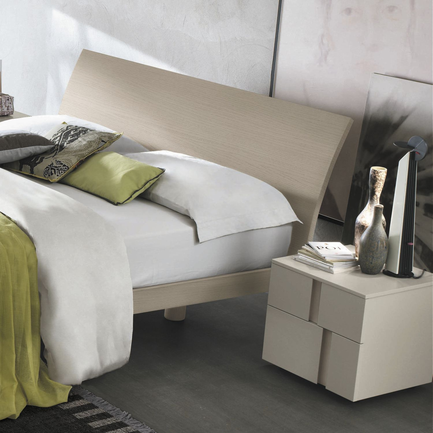 Double Bed Contemporary With