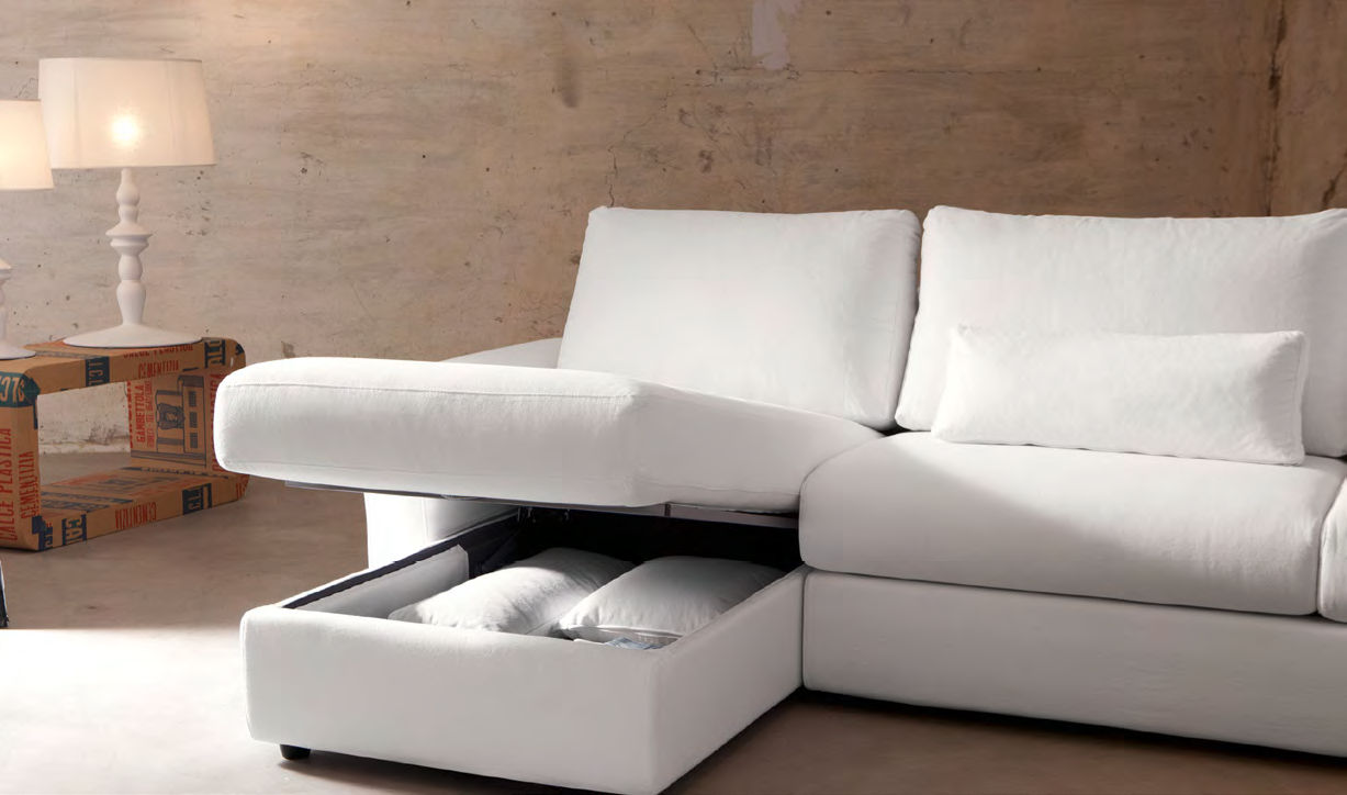 Corner sofa / contemporary / leather / 3-seater - EWALD ...
