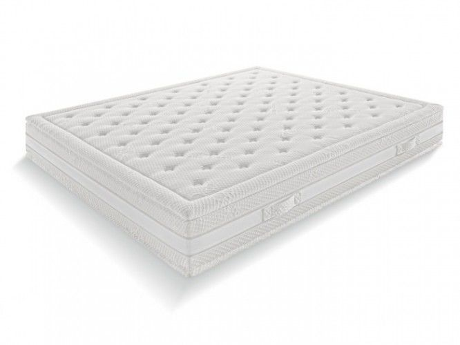 Materassi In Memory.Double Mattress Hermitage 7 White Ennerev Materassi Memory