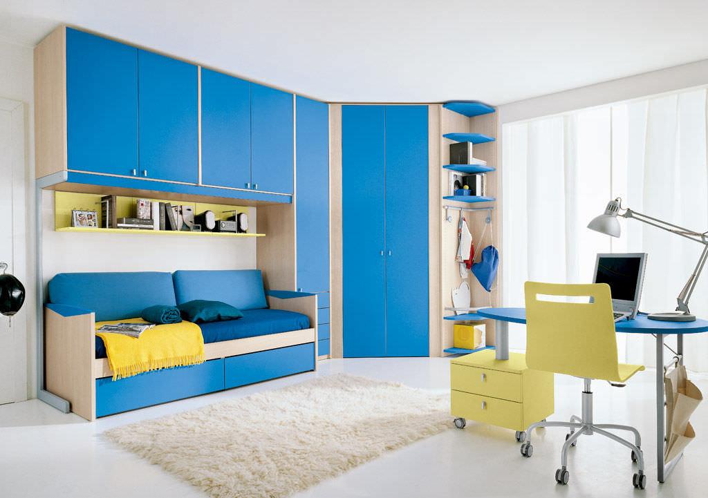 Blue Children S Bedroom Furniture Set, Childrens Furniture Sets