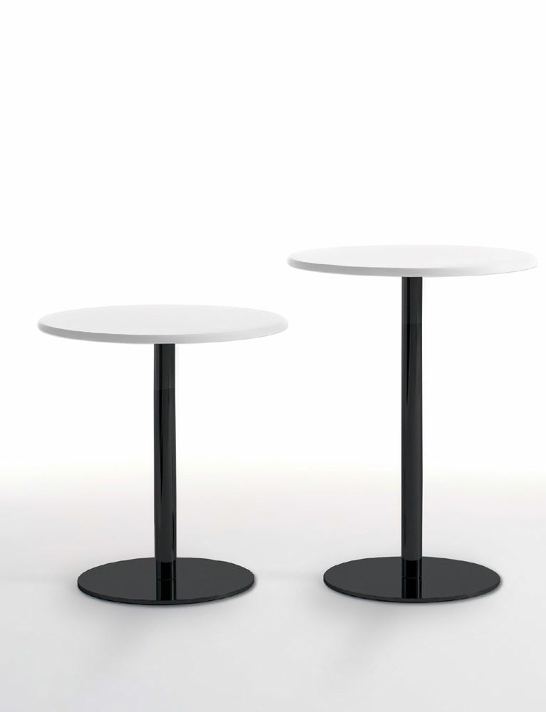 Contemporary High Bar Table Mdf Round Fiorile By Studio Archirivolto