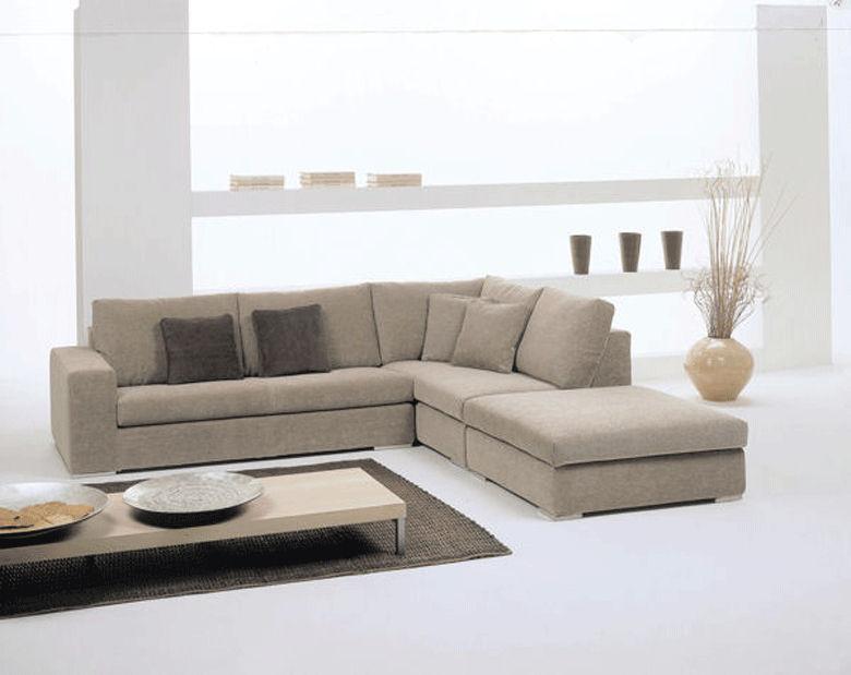Corner sofa / modular / contemporary / fabric - DOMINO - Gyform
