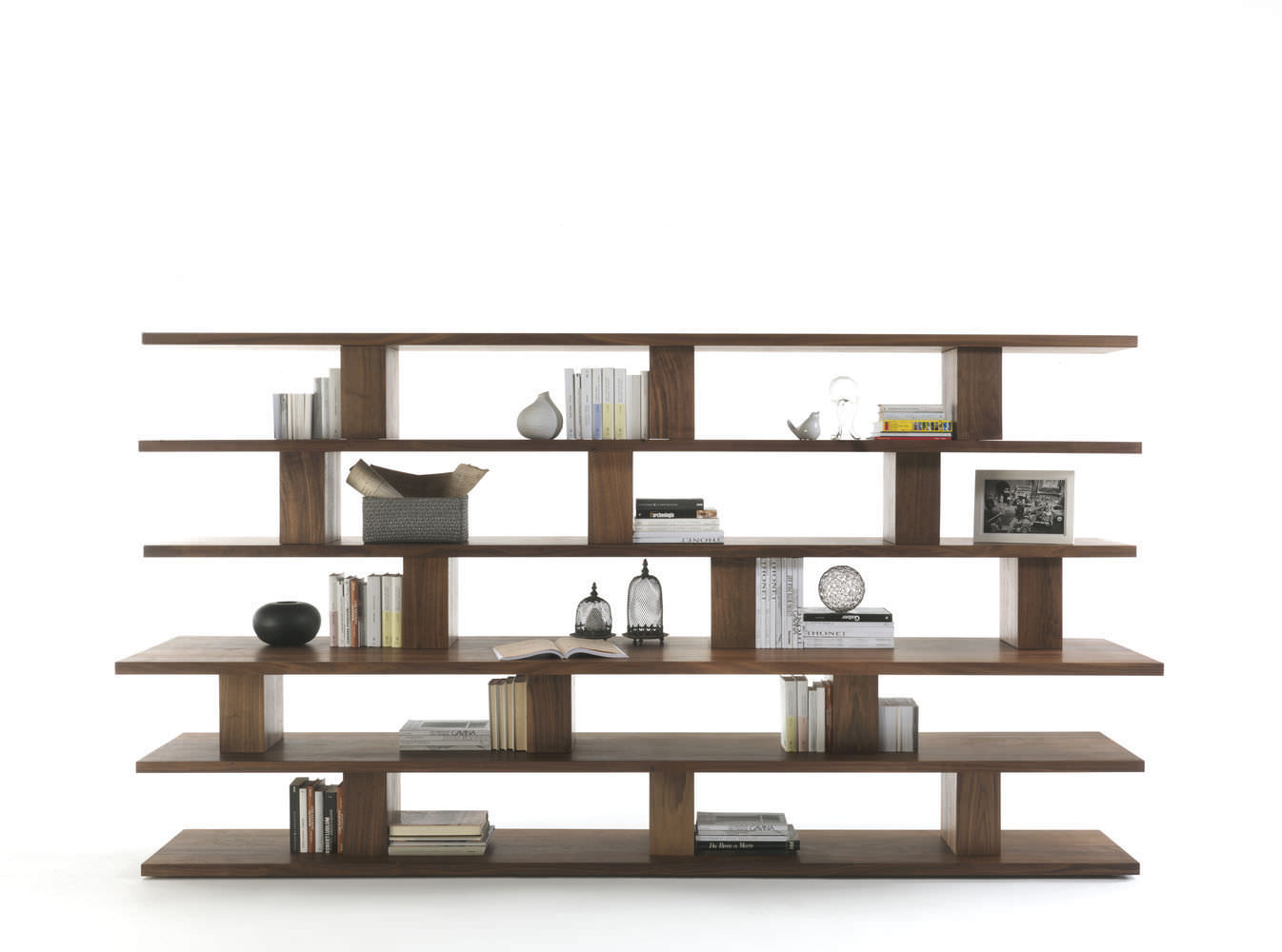 Contemporary Shelf Oak Solid Wood Recycled