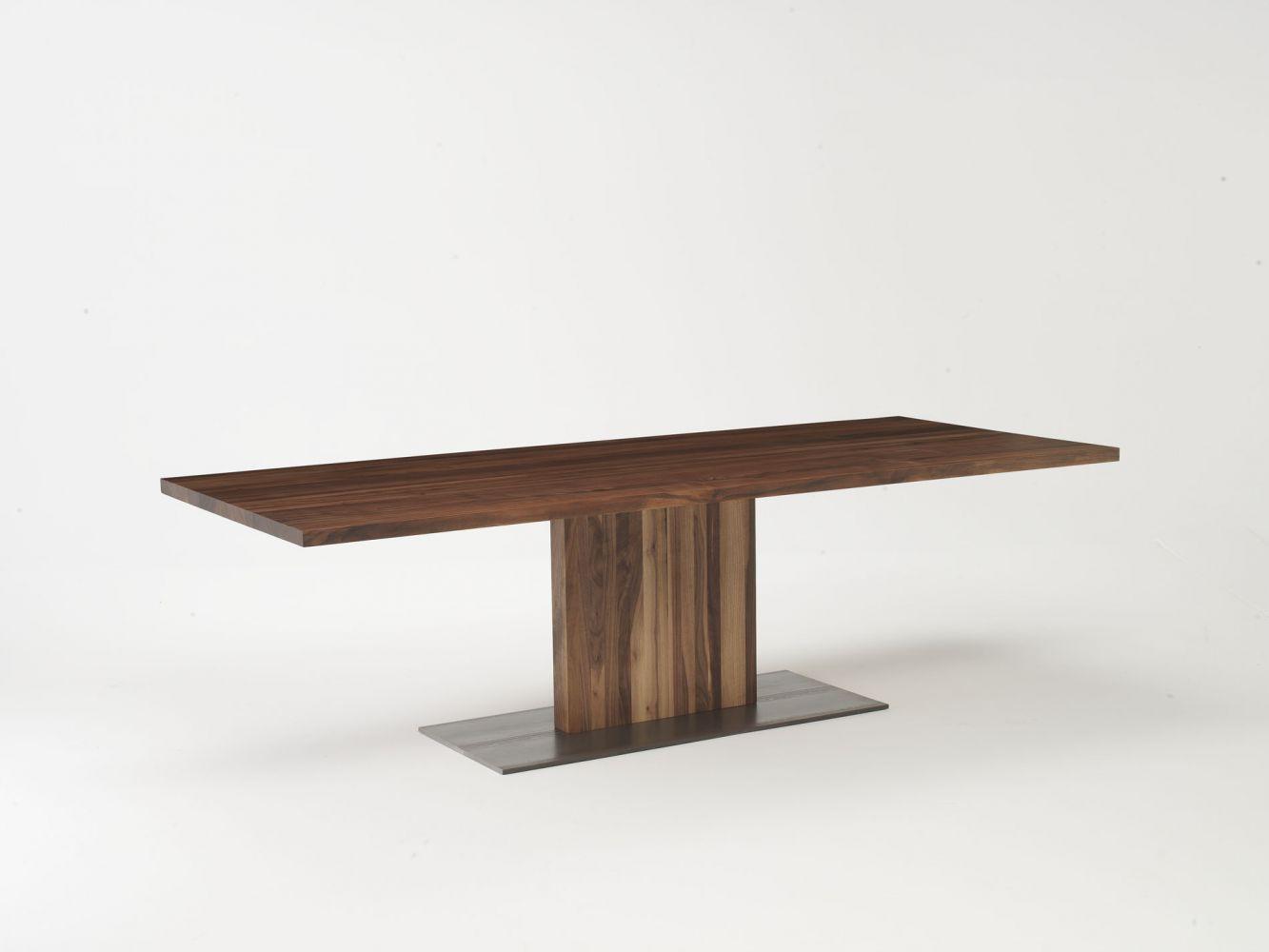 Tavolo Con Gamba Centrale contemporary table - parsifal - riva industria mobili