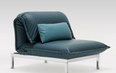 Fabulous Contemporary Chaise Longue Fabric Leather Nova By Ncnpc Chair Design For Home Ncnpcorg
