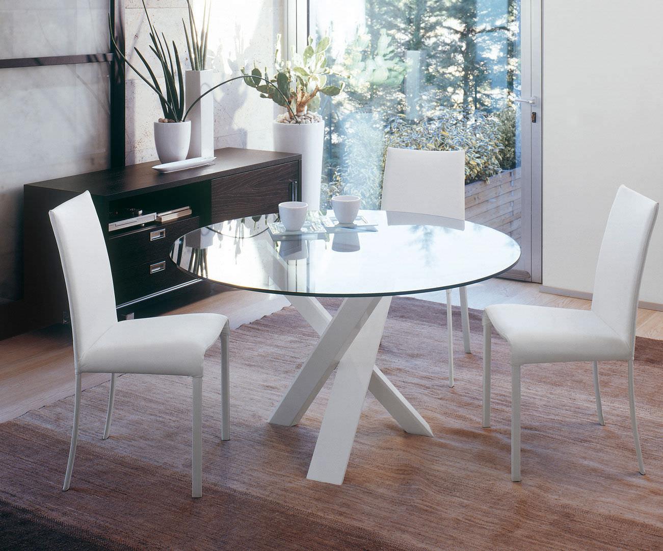 Tavoli Da Pranzo Tondi.Contemporary Dining Table Resort Antonelloitalia Wooden Round