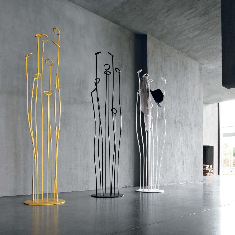 Floor Coat Rack Original Design Metal Alga Tonin Casa