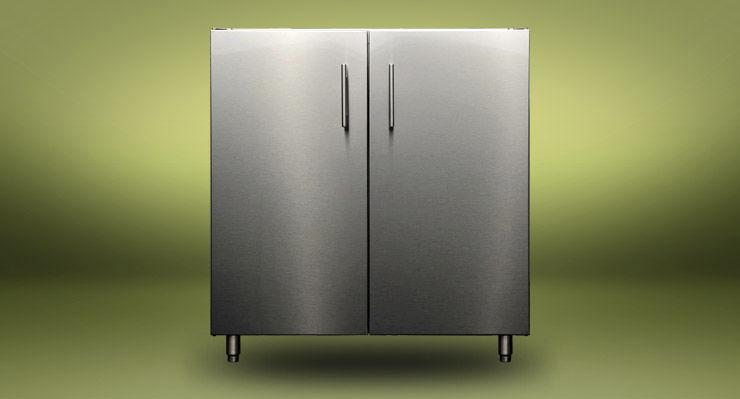 Stainless Steel Kitchen Sink Cabinet K Snkdbl 30 Kalamazoo