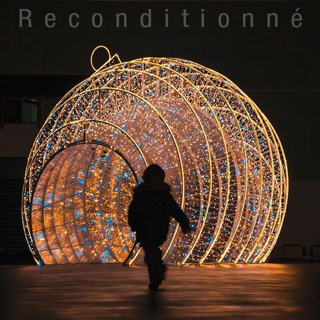 Image De Noel 3d.3d Motif Light For Public Spaces Led Coeur De Noel Leblanc Chromex