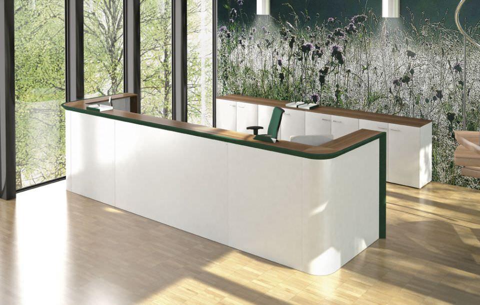 Very Laminate reception desk - CIAO - Codutti RP02