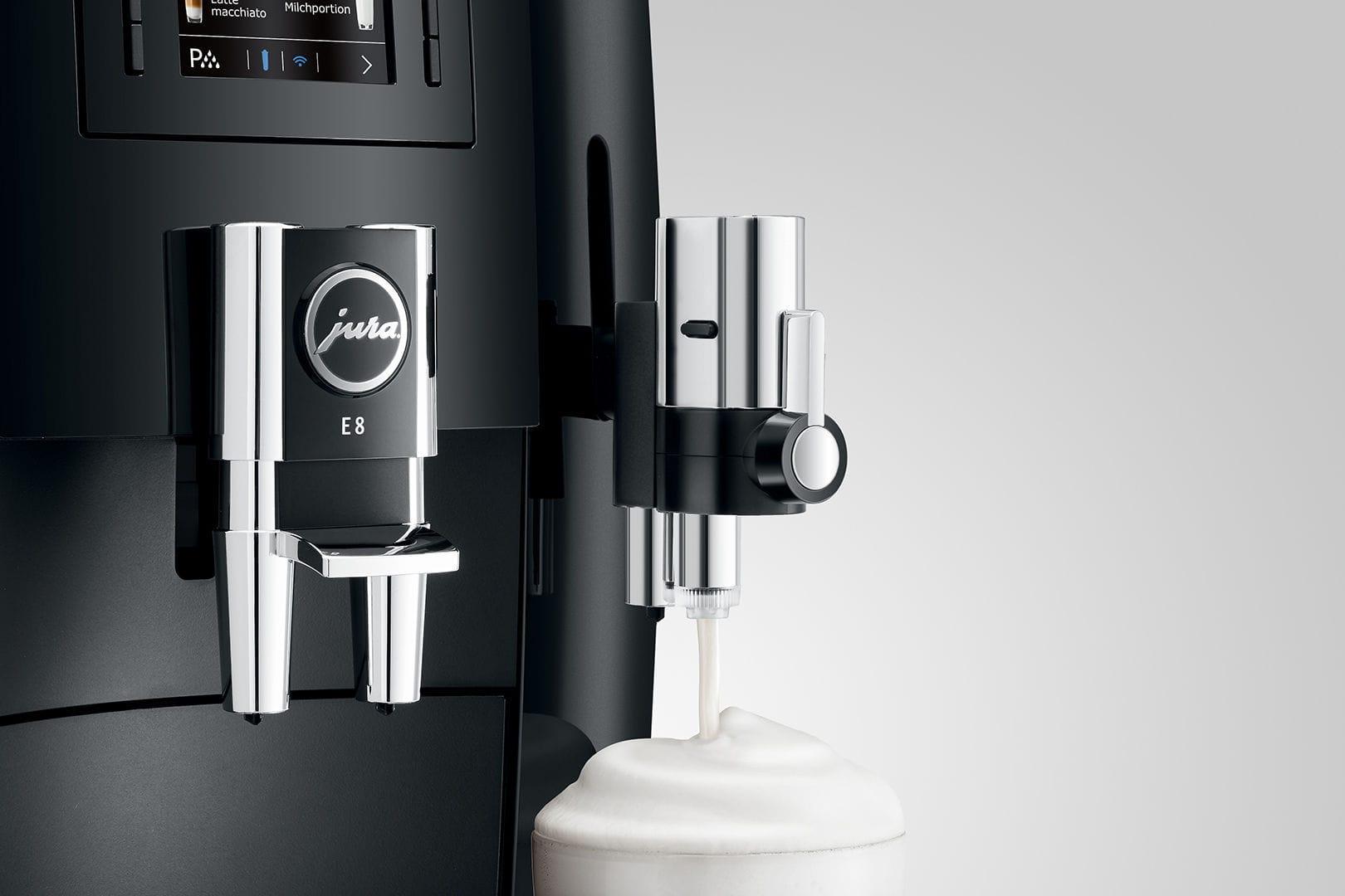 Espresso coffee machine - E8 - JURA - combined / commercial / automatic