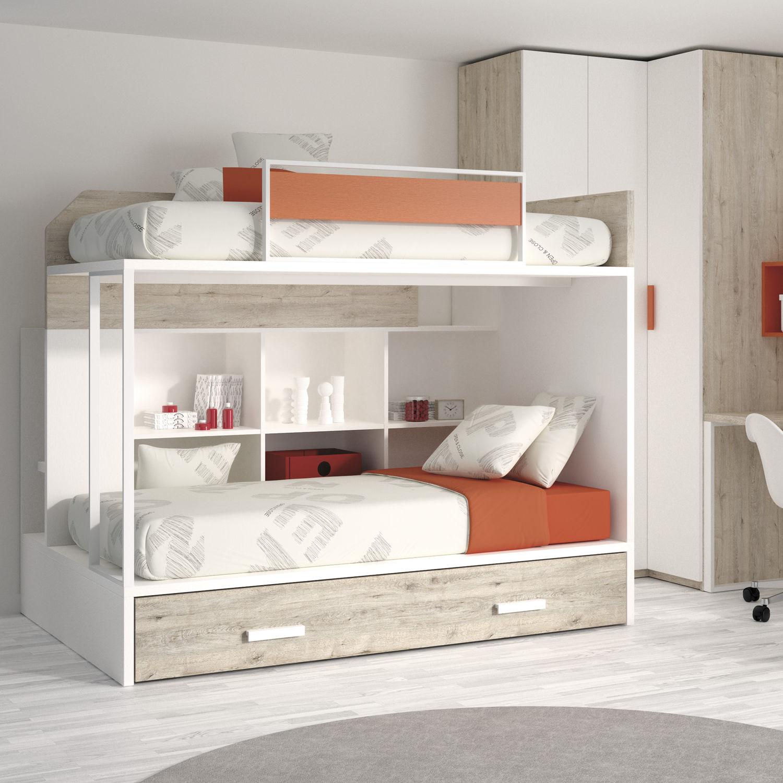 Letto A Castello Bambini Design.Bunk Bed Single Contemporary Child S Unisex Touch 58 Ros