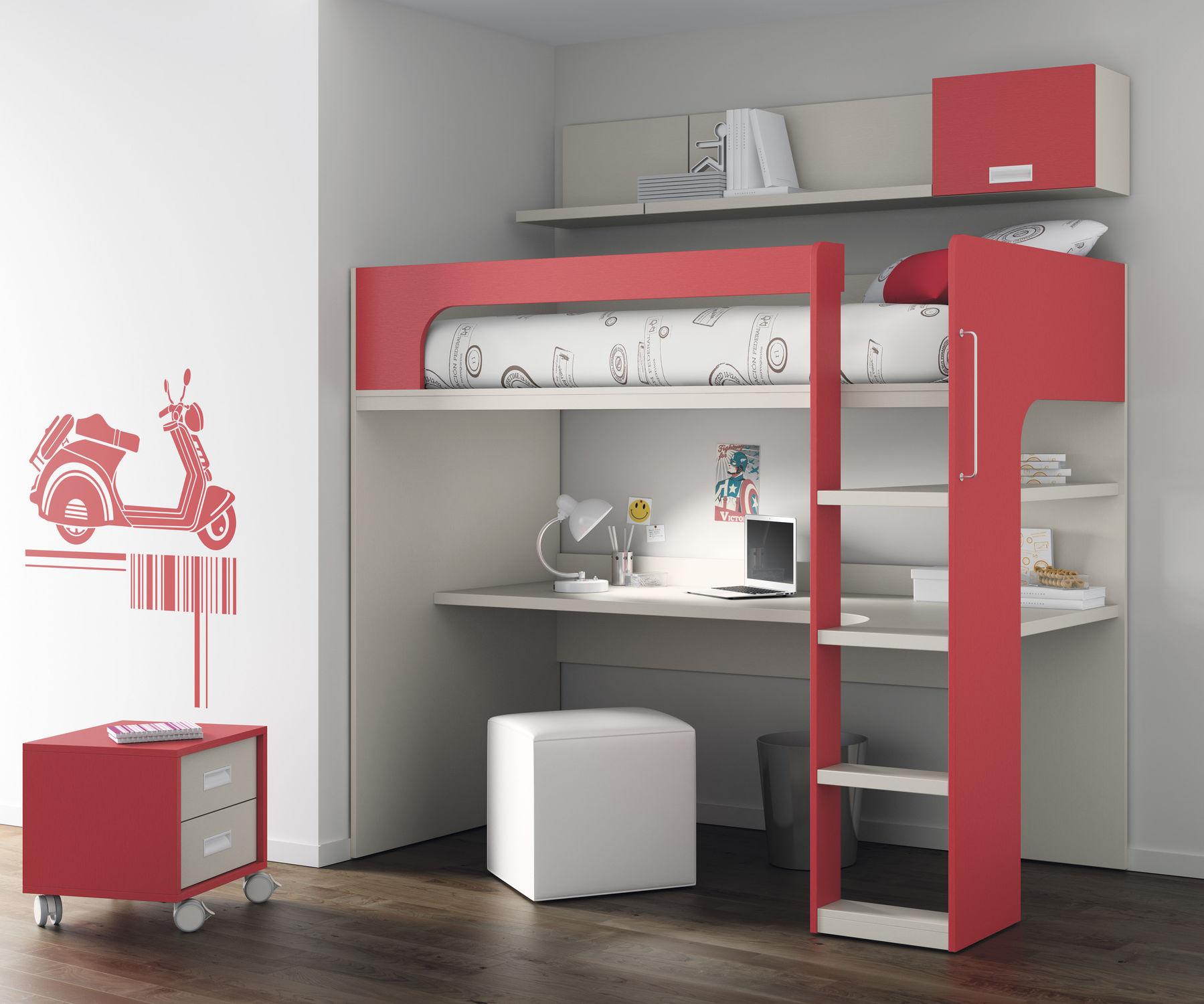 Fonkelnieuw Loft bed / single / contemporary / child's unisex - TOUCH 69 - ROS XK-73