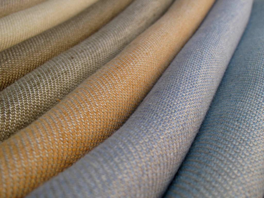 Upholstery Fabric Plain Linen Jasper
