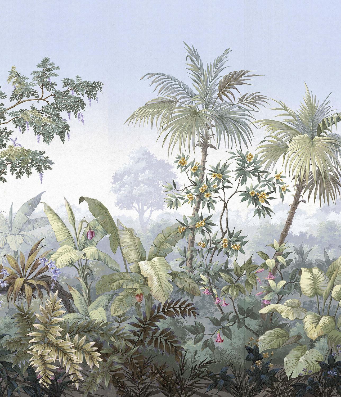 Traditional Wallpaper Nature Pattern Panoramic