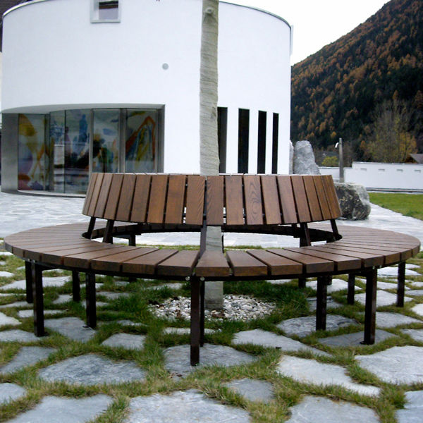 Cool Public Bench Traditional Wooden Metal Block 99Fu Evergreenethics Interior Chair Design Evergreenethicsorg