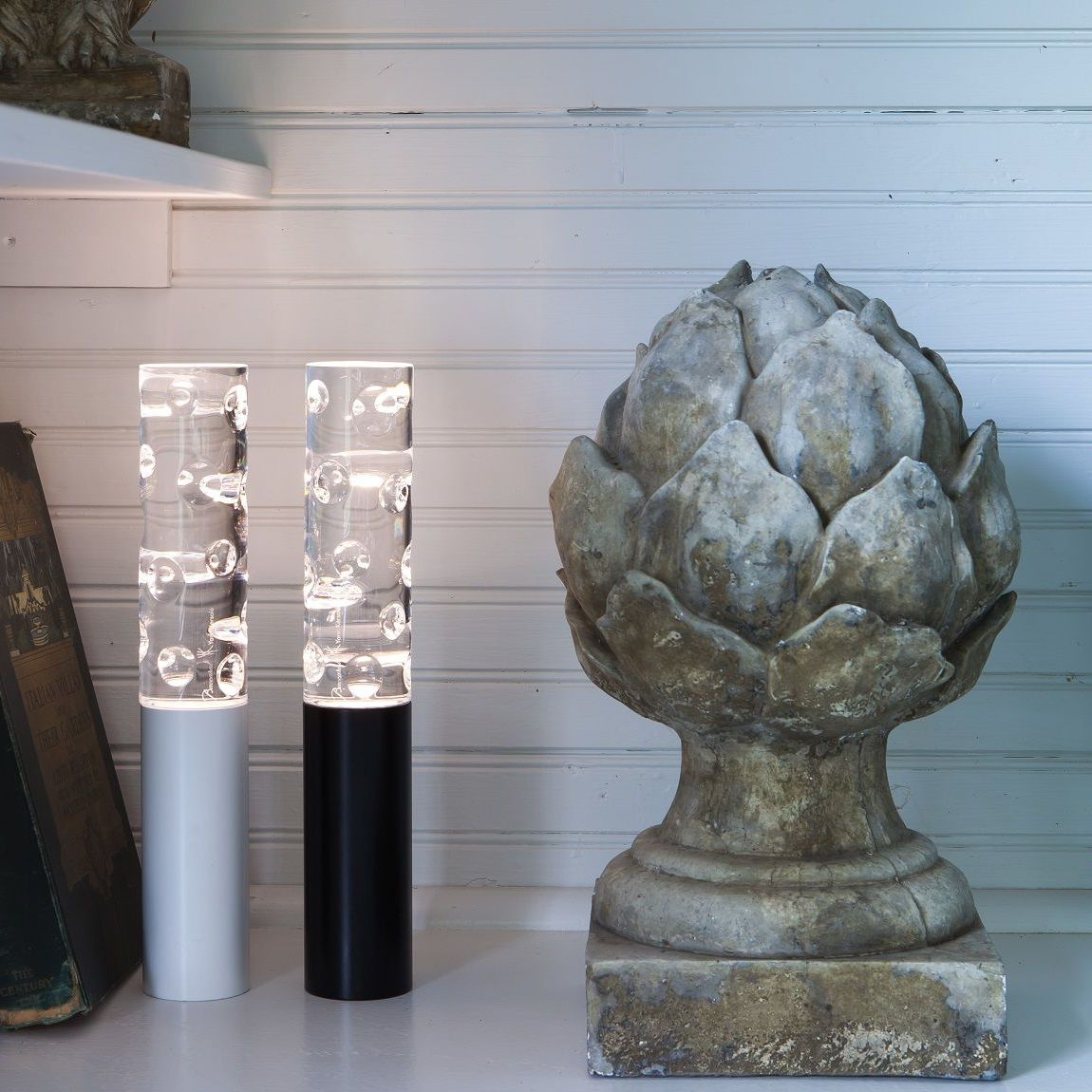 Image of: Table Lamp Jallum Baccarat Contemporary Crystal Wireless