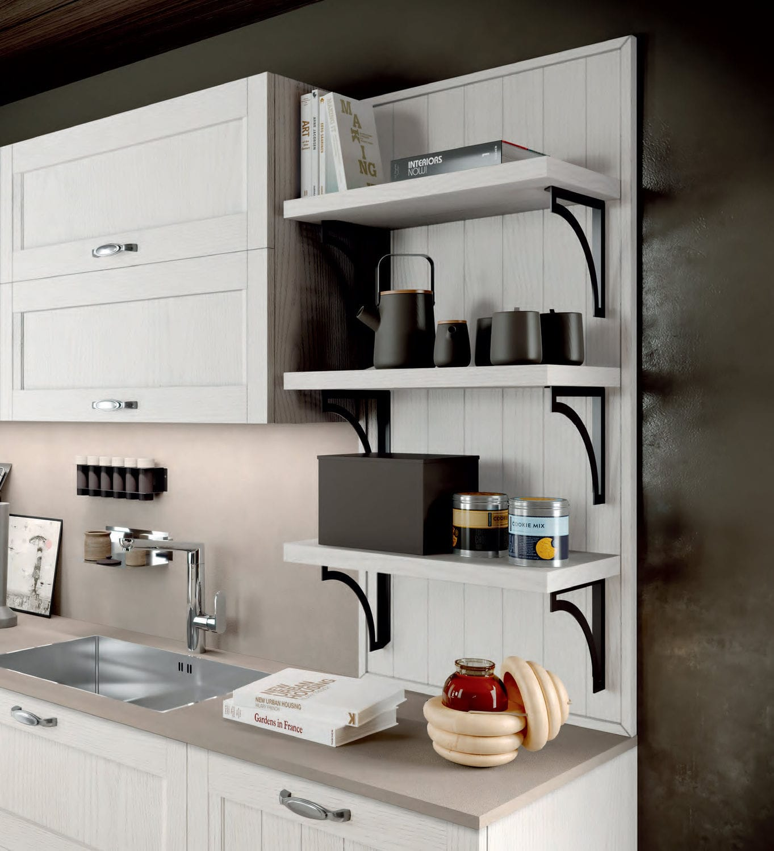 Arredo 3 Prezzi Cucine traditional kitchen - frida 3 - arredo3 s.r.l. - wood veneer