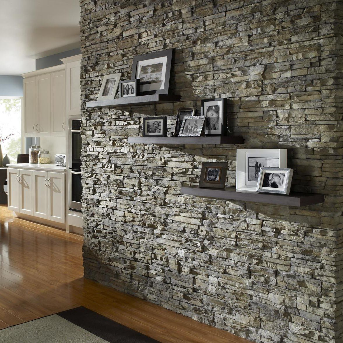 Stone Wall Cladding Interior Exterior Textured Stacked Nantucket