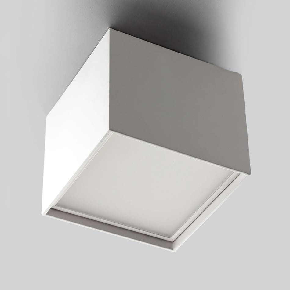 low priced 9d516 0d64b surface mounted downlight / LED / square / aluminum