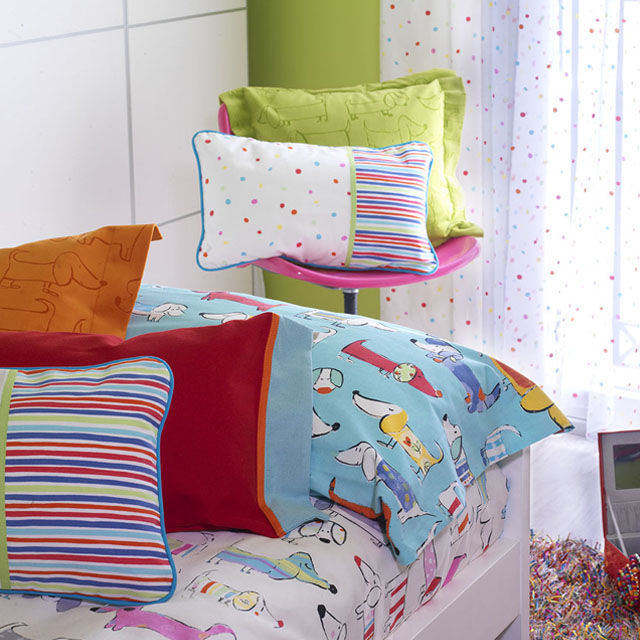 Upholstery fabric / for curtains / animal motif / children\'s ...