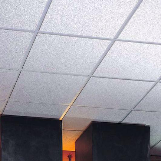 Mineral Fiber Suspended Ceiling Tile Acoustic